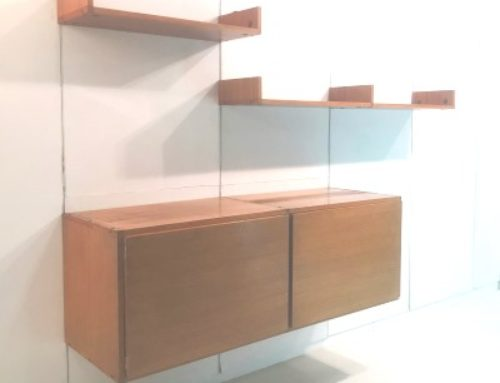 Suspended Sideboard & Shelves – A.R.P. – 1957